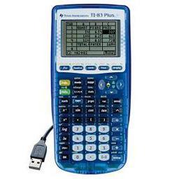 Calculatrice graphique TI-83 Plus.fr, lycée & supérieur