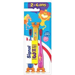 Signal Brosse à dents extra souple 2-6 ans