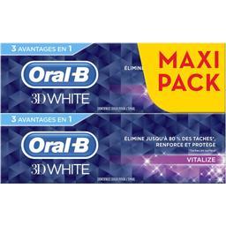 3D White - Dentifrice Vitalize