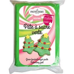 Créations - Pâte à sucre verte