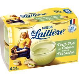 Nestlé La Laitière Le Petit Pot de Crème saveur pistache