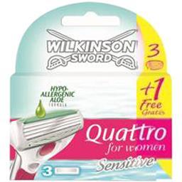 Quattro - Lames de rasoir For Women