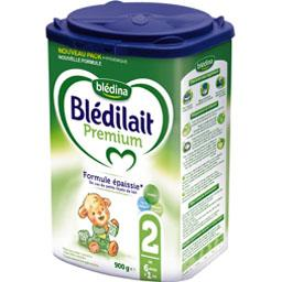 Blédilait - Lait en poudre Premium 2, de 6 mois à 1 ...