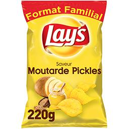 Chips saveur moutarde Pickles