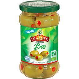 Olives farcies poivron BIO