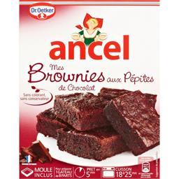 Brownies aux pépites de chocolat