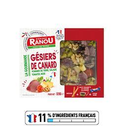 Salade La Gourmande gésiers de canard pommes de terr...