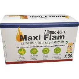 Sélectionné par votre magasin Allume-feu Maxi Flam la boite de 50 - 700 g