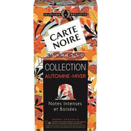 Carte Noire Capsules Espresso notes intenses et boisées la boite de 10 capsules - 50 g