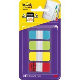 Post-it Mini marques-pages rigides couleurs standard