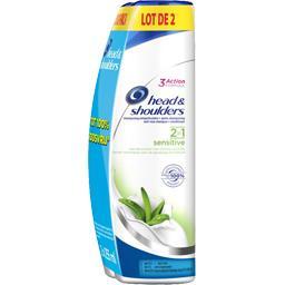 Head & Shoulders Sensitive - shampooing antipelliculaire 2 en 1