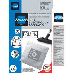Sacs aspirateurs DOM-14 compatibles AEG, Electrolux,...