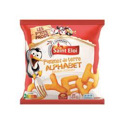 Pommes de terre Alphabet