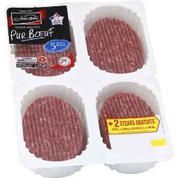 Viande hachée vrac pur bœuf 5%