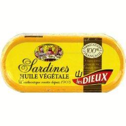 Sardines à l'huile végétale