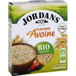 Flocons d'avoine grains entiers BIO