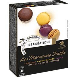 Les Macarons Festifs assortiment