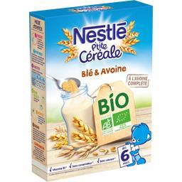P'tite Céréale - Céréales blé & avoine BIO, dès 6 mo...