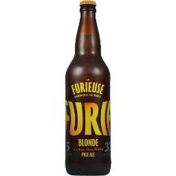 """Bière blonde artisanale """"la furie"""""""