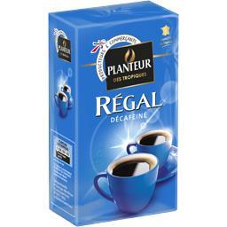 Régal, café décaféiné moulu