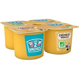 Crème dessert vanille BIO