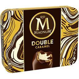 Bâtonnets de glace Double caramel
