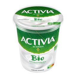 Activia - Lait fermenté nature brassé BIO