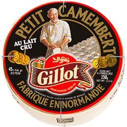 Petit camembert au lait cru fabriqué en Normandie
