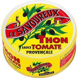 Thon sauce tomate provençale