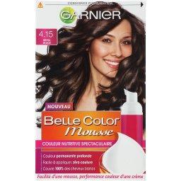 Belle Color Mousse - Couleur nutritive Moka Glacé 4.15