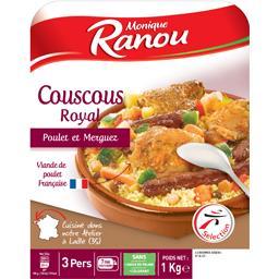Couscous Royal poulet & merguez