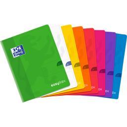 Cahier Easybook agrafé 170x220 90 g seyes coloris as...