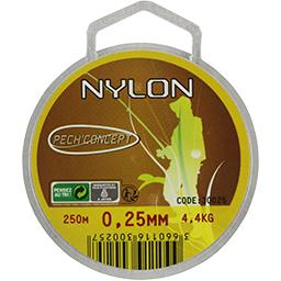 Nylon transparent 25/100 250 m