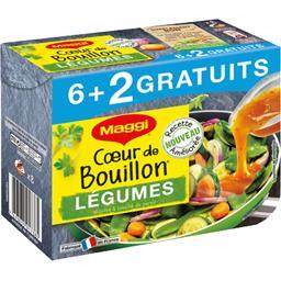 Maggi Cœur de Bouillon - Bouillon légumes mijotés & touche... les 6 capsules de 22 g s