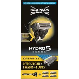 Rasoir Hydro5 Sense Energize pour homme