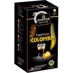 Planteur des Tropiques Espresso Colombie capsules le boites de 10 - 104 g