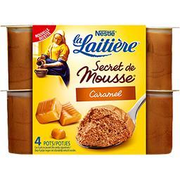 Secret de Mousse - Mousse lactée caramel