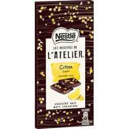 Les Recettes de l'Atelier - Chocolat noir citron con...