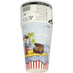 Gobelet en carton 0,2 l, Pirate Island