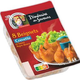 Beignets crevette et sauce aigre-douce