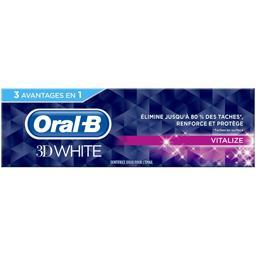 Oral B Oral B Dentifrice 3D White Vitalize