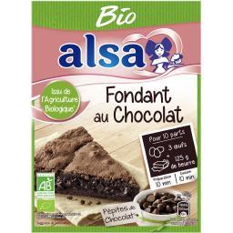 Fondant au chocolat BIO