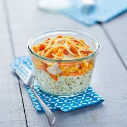 Filet d'églefin et son quinoa façon risotto