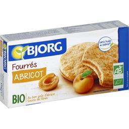 Biscuits fourrés abricot BIO