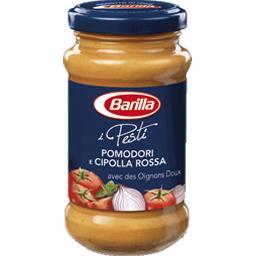 Sauce Pomodori e Cipolla Rossa avec des oignons doux