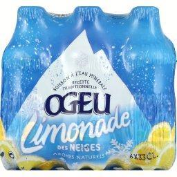 Limonade des Neiges à base d'eau minérale des Pyréné...