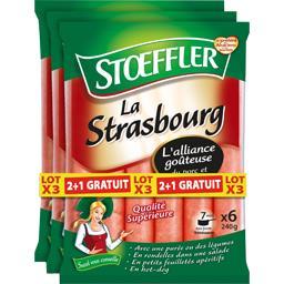 Stoeffler Saucisses La Strasbourg