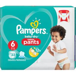 Couches-culottes Baby-dry taille 6 : 15+ kg