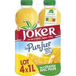 Joker Le Pur Jus - Jus d'orange avec pulpe