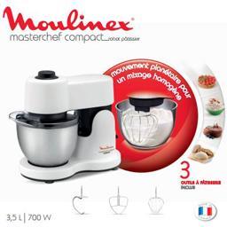 Robot pâtissier Masterchef Compact 3,5 L 700W, blanc